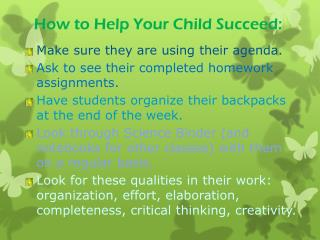 How to Help Your Child Succeed:
