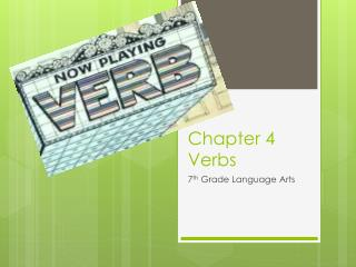 Chapter 4 Verbs