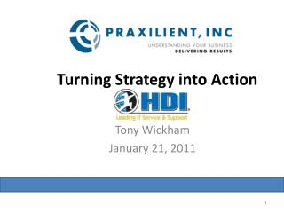Turning Strategy into Action