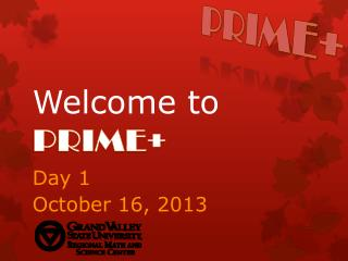 Welcome to  PRIME+