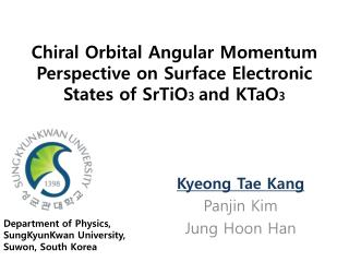 Chiral  Orbital Angular Momentum Perspective on Surface Electronic States of SrTiO 3  and KTaO 3