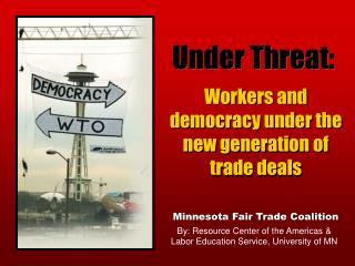 Under Threat: