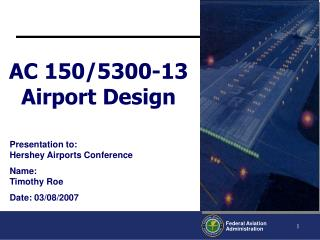 AC 150/5300-13 Airport Design