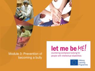 Module 3: Prevention of becoming a bully