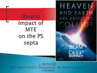 (Beam) Impact of MTE  on the PS septa