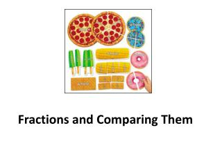 Fractions and Comparing Them