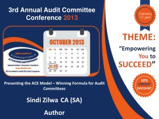 3rd Annual Audit  Committee Conference  2013