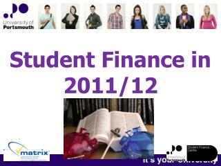 Student Finance in 2011/12