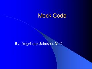 Mock Code