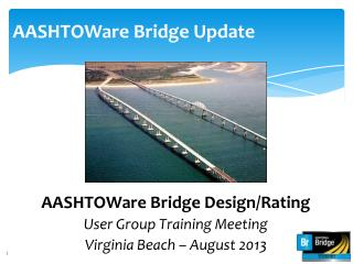 AASHTOWare Bridge Update