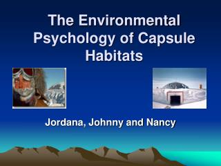 The Environmental Psychology of Capsule Habitats