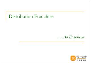 Distribution Franchise