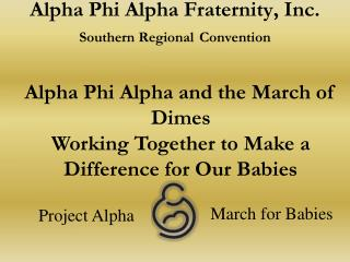 Alpha Phi Alpha Fraternity, Inc. Southern Regional Convention