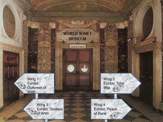 Wing 1 Exhibit: Outbreak of WWI