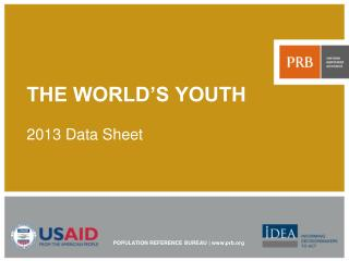THE WORLD'S YOUTH 2013 Data Sheet