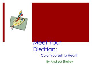 Meet Your Dietitian: