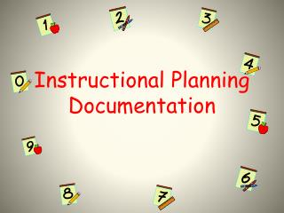 Instructional Planning Documentation