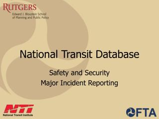 National Transit Database