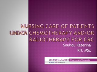 Nursing Management:  Cancer