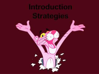 Introduction Strategies