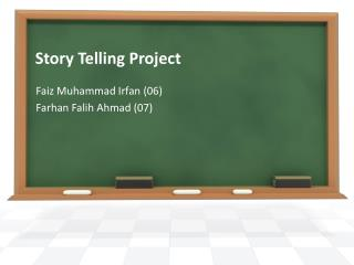 Story Telling Project