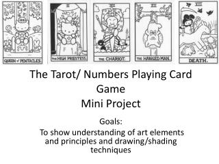 The Tarot/ Numbers Playing Card Game  Mini Project