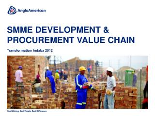 SMME development & procurement value chain