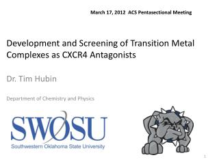 Development and Screening of Transition Metal Complexes as CXCR4 Antagonists