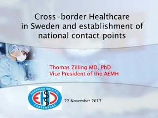 Cross-border Healthcare  in Sweden and establishment of national contact points