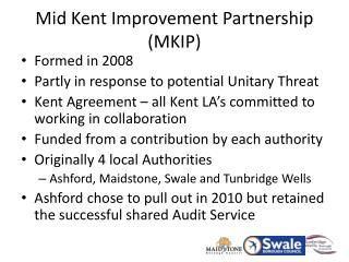Mid Kent Improvement Partnership (MKIP)