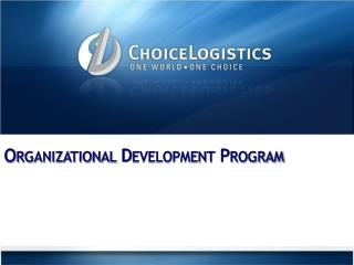 Organizational Development Program