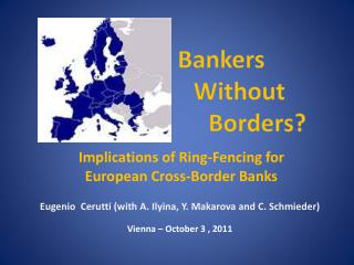 Implications  of Ring-Fencing for European Cross-Border Banks
