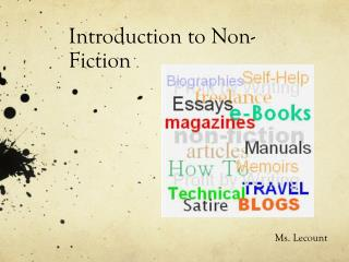 Introduction to Non-Fiction