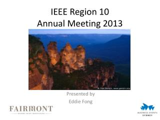 IEEE Region 10  Annual Meeting 2013
