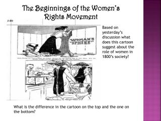 a review of the first womens rights movement Martin pugh charts the women's movement's published in history review in england mary wollstonecraft wrote a vindication of the rights of women.