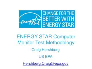 ENERGY STAR Computer Monitor Test Methodology