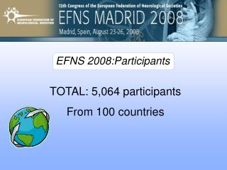TOTAL: 5,064 participants From 100 countries