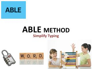 ABLE  METHOD