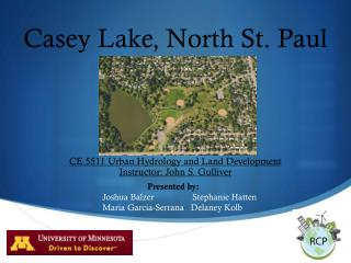 Casey Lake, North St. Paul