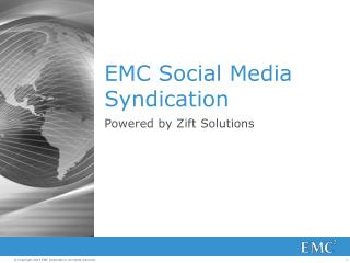 EMC Social Media Syndication