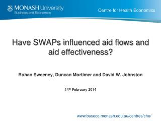 Have SWAPs influenced aid flows and aid  effectiveness?