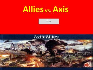 Allies  vs.  Axis