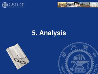 5. Analysis