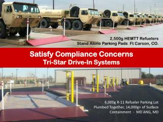 Satisfy Compliance Concerns Tri-Star Drive-In Systems