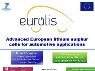 Advanced European lithium sulphur cells for automotive applications