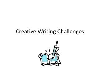 Creative Writing Challenges