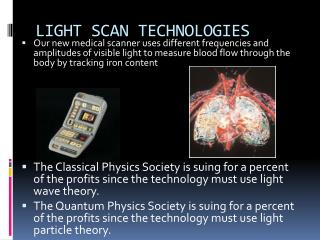 LIGHT SCAN TECHNOLOGIES