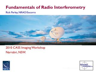 Fundamentals of Radio  Interferometry
