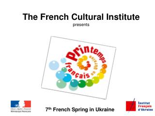 The French Cultural Institute presents