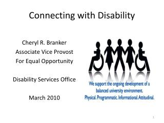Connecting with Disability